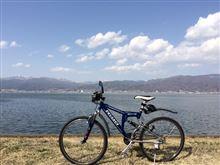 今年の諏訪湖周回サイクリングがスタート♪