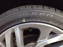 C4、タイヤ交換