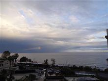 ホテルの窓辺から18 地中海に落ちる虹の小片・・ / Catania Sicily