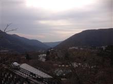 箱根の朝。