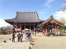 無常な日常(梅の花でランチ&池上本門寺の桜)