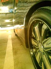 タイヤ掃除