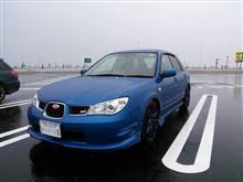 雨のドライブ。(^。^)