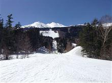 スキーと温泉