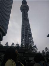 東京スカイツリーに行って来た