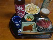 昨晩のお酒☆米鶴