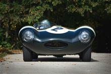 ブサかっこいいレースカー Jaguar D-Type