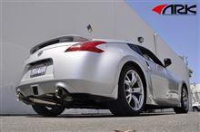 【車道楽日替セール】日産 Z34 フェアレディZ用エグゾースト ARK Performance -アークパフォーマンス- 日本上陸記念セール!