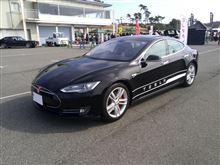 TESLA Model Sはめちゃ速かった
