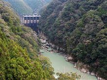 和歌山県田辺市合川(合川ダム展望台)