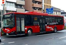 京都急行バスの中国製バス(BYDオート)