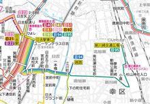 新路線開業、日95系統 日吉駅東口~新川崎交通広場