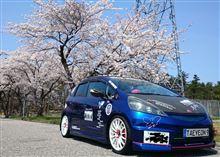 桜とコラボ!(≧▽≦)