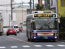 川崎鶴見臨港バスの日95系統とご対面