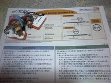 TOEIC受験⑥:テスト結果着(伸び悩み状態・・・)