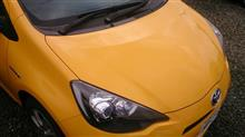 黄色いアクア