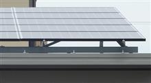 カーポートに太陽光パネルを設置