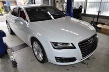 Audi A7スポーツバック(4G)P-SYS TVキャンセラー取り付け