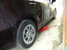 タイヤ交換の延期