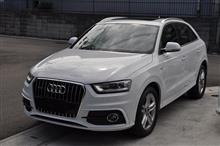 Audi Q3 Sライン P-SYS TVキャンセラー取り付け