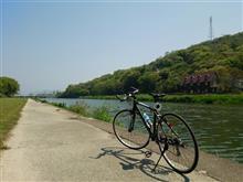 軽ポタ(香東川自転車道)