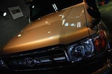 「全世界対応車!?」、トヨタ・ランドクルーザーのガラスコーティング【ラディアス川崎】