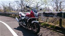 大型二輪に乗ろう(里は春から初夏へ、山は冬から春へ、・・)