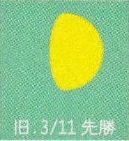 月暦 4月29日(水)
