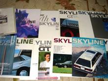 R31スカイラインのカタログ諸々