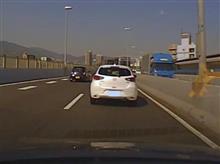 阪神高速にて