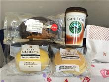 菓子パン各種+メンチカツ