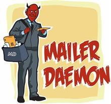 ★MAILER DAEMONさんからのメールが増えております。設定ご確認下さい。★