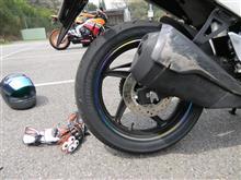 タイヤの皮剥きにALTへ!!