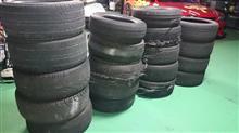 ようやく中学生ドリフトシリーズの新作をUPとタイヤの片付けをしました。