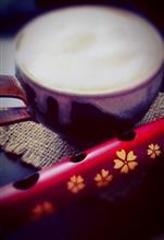 益子焼き と 篠笛。