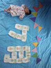 誕生1ヶ月(^-^)