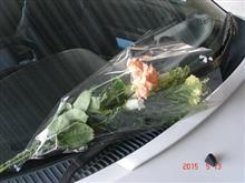 お花を渡しました~(^^)/