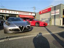 Ferrari360とアルファロメオ4C