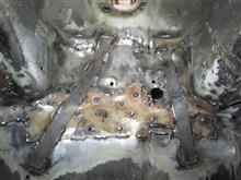 インテグラのクラック修理4