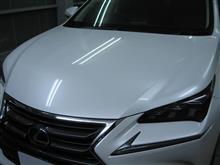 レクサスNX ボディガラスコーティング アークバリア21施工 愛知県豊田市 倉地塗装 KRC