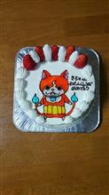 誕生日ケーキだけど、