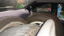S14シルビアにタイヤをたくさん積みたい!