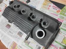 「ヘッドカバーに色を…」 G13Bエンジン シリンダーヘッドオーバーホール(7)