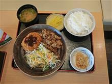 名神高速下り草津PA 近江牛定食990円