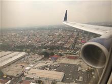 メキシコシティ到着