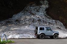 残雪の影響です。