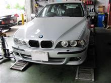 BMW E39 525i 冷却水漏れ~夏の車トラブルに向けて~