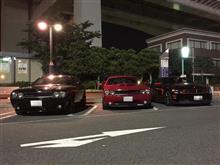 夜のドライブ8-(*ノ゚∀゚)ノ