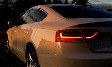 Audi A5 Sportbackのゴールデンアングル