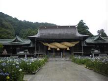 宮地嶽神社に菖蒲を見に行って来ました